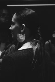 Backstage Hebrante Fall Winter 2018. Fotografía Mateo Navarro.